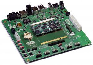 Mini-ITX baseboard with A31 µQ7