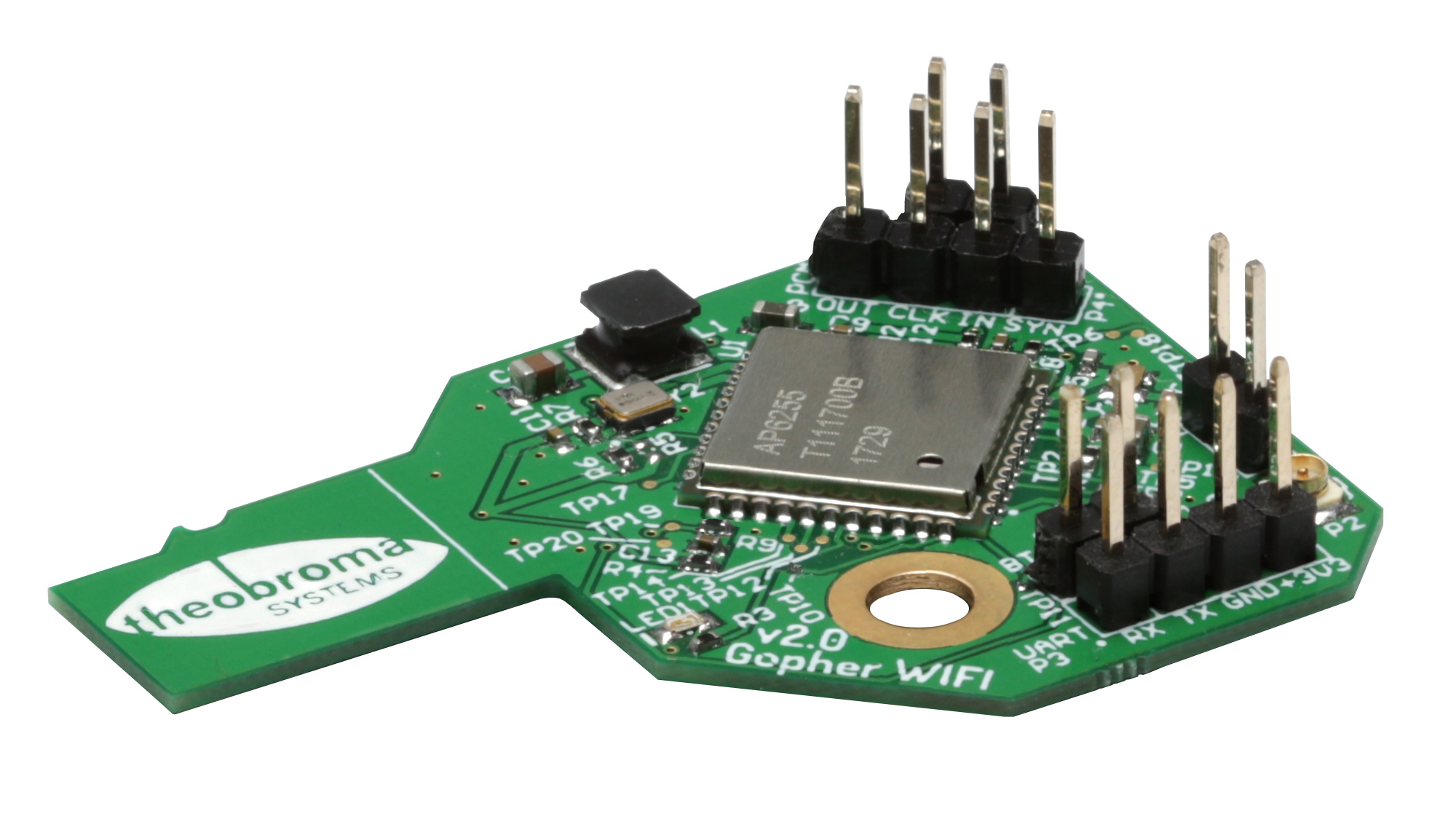 WIFI module add-on for the Q7 DEVKIT –– Theobroma Systems